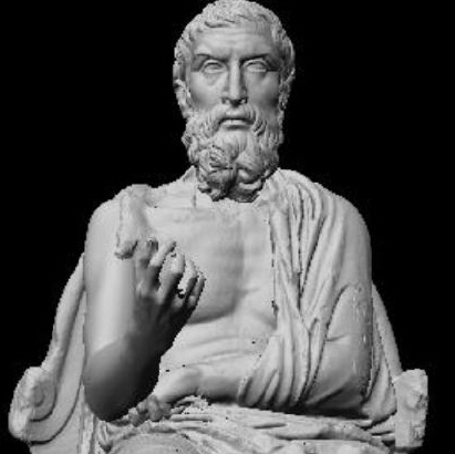 Epicurus Sculpture Crop