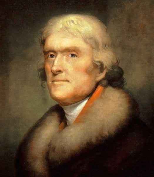 Jefferson RembrandtPeale1805