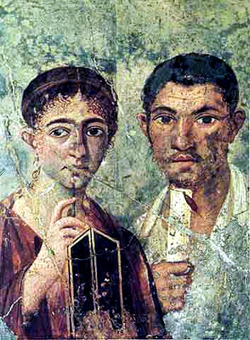 Pompeii Couple
