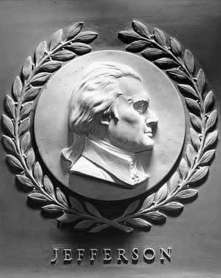 Jefferson ProfileinMarble
