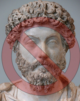 Aurelius With Warning Circle
