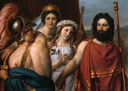 Iphigenia At Aulis David
