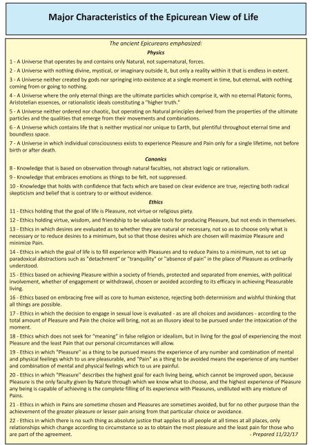 MajorCharacteristics