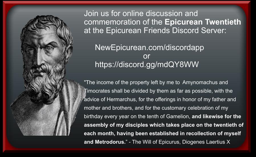 Epicurean20thCommemoration