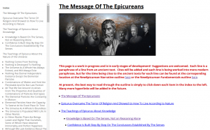 messageoftheepicureans